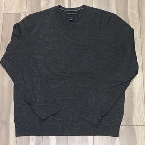 Banana Republic Dark Gray Merino Wool Sweater (L)